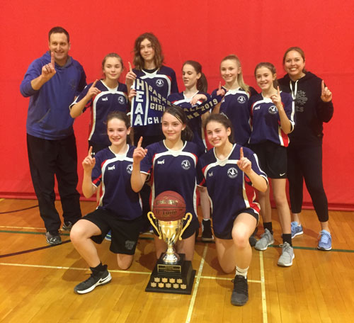 River Heights grade 8 team who won the A division