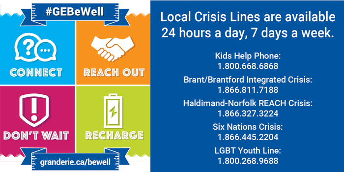 Crisis line poster