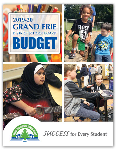 Grand Erie District School Board 2019-20 Budget