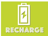 Recharge graphic and link