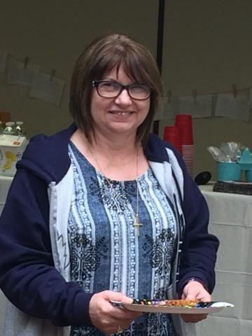 Photo of Mrs. Genge at Brier Park