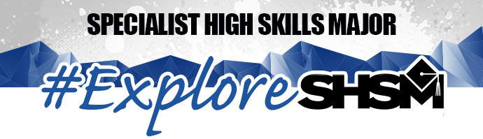 Graphic header promotes Specialist High Skills Major program