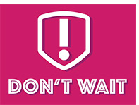 Don't Wait graphic and link