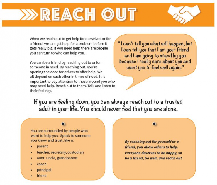 Be Well poster offers resources