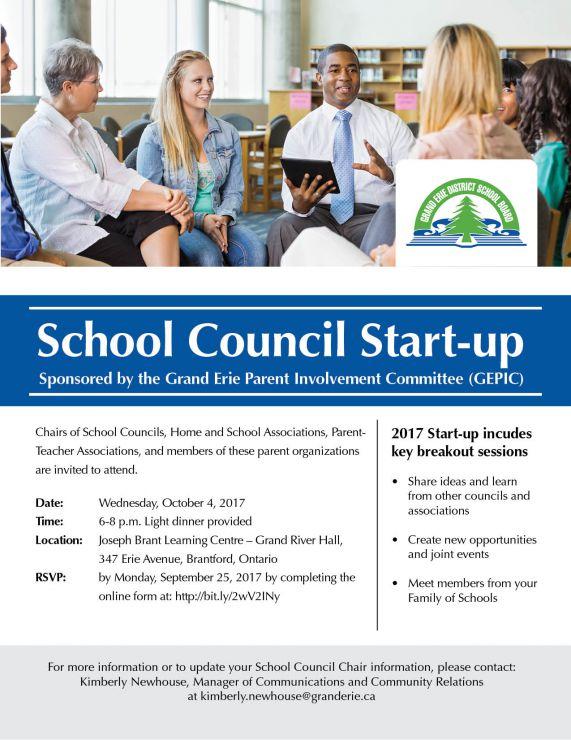 School Council Start Up Flyer